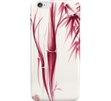 Inspiration - Sumie ink brush zen bamboo painting iPhone Case/Skin