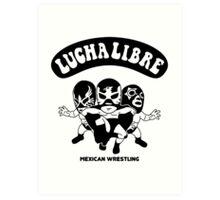 mexican wrestling lucha libre13 Art Print