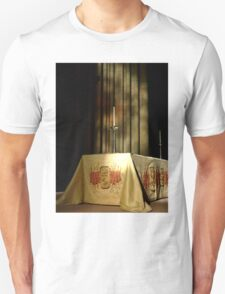 The Minster Alter Candle Unisex T-Shirt