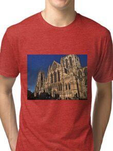 The Minster in York Tri-blend T-Shirt