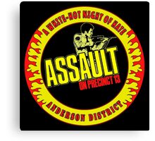 Assault on Precinct 13 Colour Canvas Print