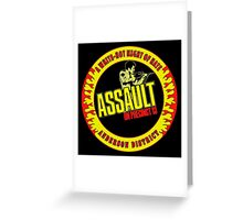 Assault on Precinct 13 Colour Greeting Card