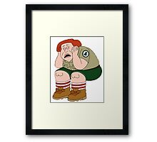 Brickleberry - Connie Framed Print