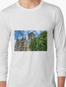 The Minster in High definition Long Sleeve T-Shirt