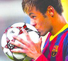 Neymar  by Lyra Hexica