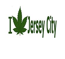 I Love Jersey City by Ganjastan