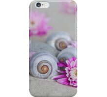 Flower and shell iPhone Case/Skin