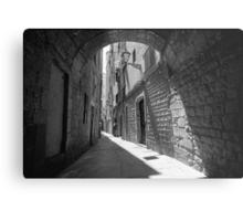 Barrio Gotico Alley Metal Print