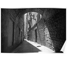 Barrio Gotico Alley Poster