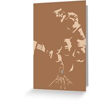 Attack on Colossus Greeting Card