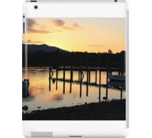 Sunset in the lakes iPad Case/Skin