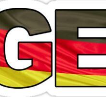 #GER Sticker