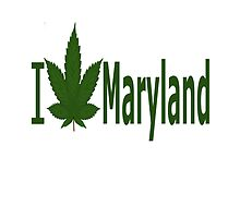 I Love Maryland by Ganjastan