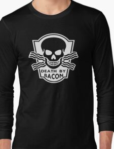 Death By Bacon Long Sleeve T-Shirt