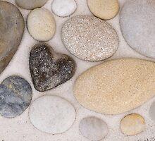 Stone heart by artsandsoul