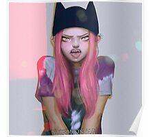 Neko Hat Poster