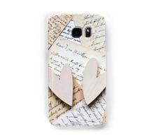 Love Letters Samsung Galaxy Case/Skin