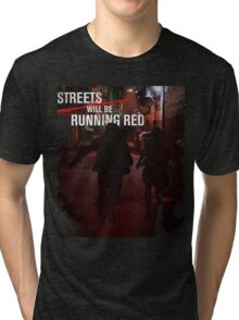 The Purge Streets Will Be Running Red 2016 Tri-blend T-Shirt