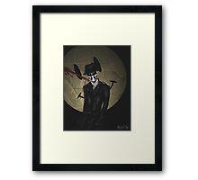 Rorschach-Watchmen Framed Print