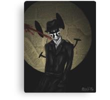 Rorschach-Watchmen Canvas Print