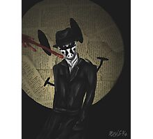 Rorschach-Watchmen Photographic Print