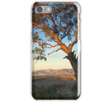 early evening towards lake hume iPhone Case/Skin