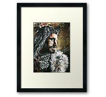 The Hobbit, Torin Oakenshield fanart Framed Print