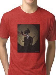 Rorschach-Watchmen Tri-blend T-Shirt