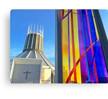 Catholic Cathedral, Liverpool Canvas Print