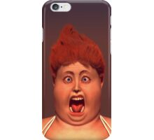 Aaaaa....Scream iPhone Case/Skin