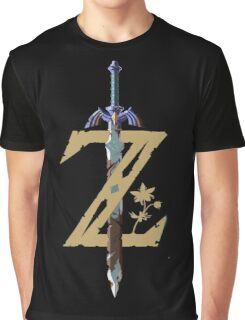 "The Legend of Zelda: Breath of the Wild - ""Z"" Logo Graphic T-Shirt"