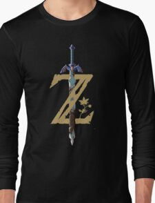 "The Legend of Zelda: Breath of the Wild - ""Z"" Logo Long Sleeve T-Shirt"