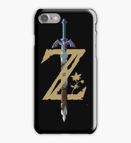 "The Legend of Zelda: Breath of the Wild - ""Z"" Logo iPhone Case/Skin"