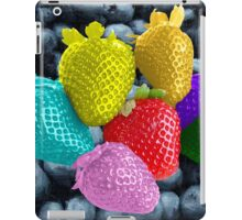 Strawberries and Blueberries iPad Case/Skin