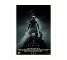 The Elder Scrolls V: Skyrim (Movie Poster Version) Art Print