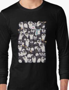 Penguins - Big Family Long Sleeve T-Shirt