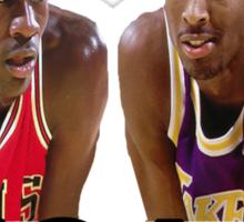 Legacy Kobe & Jordan  Sticker