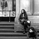 cold bums at the GPO by geof