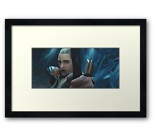 Legolas Greenleaf Framed Print