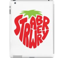 Type O' Strawberry iPad Case/Skin