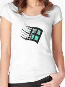 Sad Boys| Windows XP | High Quality! | Women's Fitted Scoop T-Shirt