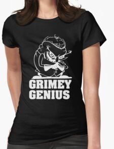 Greedy Genius Womens Fitted T-Shirt