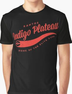 Indigo Plateau (Red) Graphic T-Shirt
