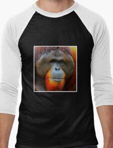 Sumatran orangutan Men's Baseball ¾ T-Shirt