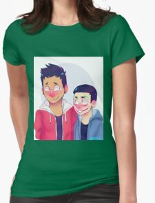 Vanoss and H2ODelirious Womens Fitted T-Shirt