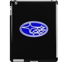 Neon Subaru Badge iPad Case/Skin