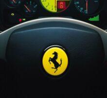 Ferrari case Sticker