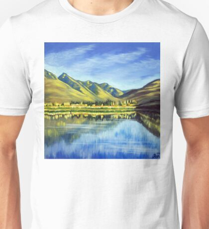 Lake Hayes, Queenstown NZ Unisex T-Shirt