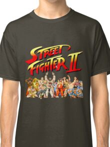 Street Fighter II Arcade Group Shot Tee  Classic T-Shirt
