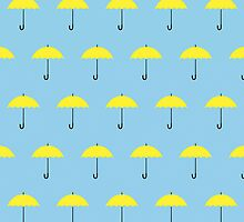 HIMYM Yellow Umbrella by clockstrikes11